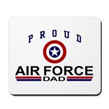 Proud Air Force Dad Mousepad