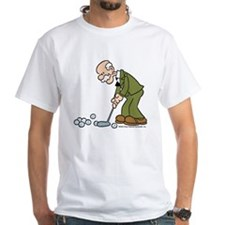 Halftrack Putting White T-Shirt