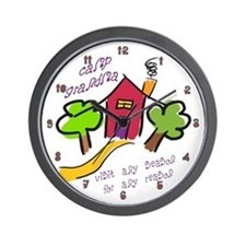 Camp Grandma Wall Clock