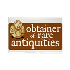 Obtainer Rare Antiquities Rectangle Magnet