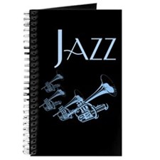 Jazz Trumpet Blue Journal