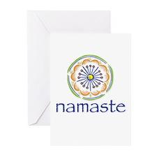 namaste Greeting Cards