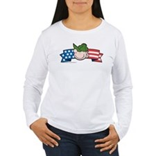 Star-Spangled Beetle Banner Women's Long Sleeve T-