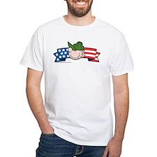 Star-Spangled Beetle Banner White T-Shirt