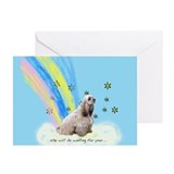 rainbow bridge poem Greeting Cards (Pk of 10)