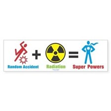 Super Powers Bumper Bumper Sticker
