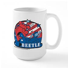 Angry Sarge Red, White, and B Large Mug