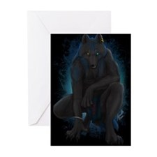 Cute Werewolf Greeting Cards (Pk of 20)