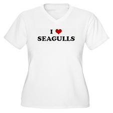 I Love SEAGULLS T-Shirt