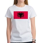 Albania Blank Flag Women's T-Shirt