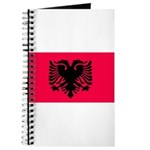 Albania Blank Flag Journal