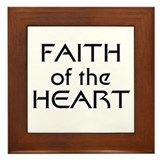 Faith of the Heart Framed Tile