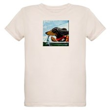 Dachshund Takes the Wheel T-Shirt