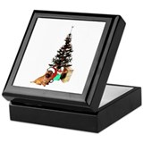 Cairn Christmas Keepsake Box