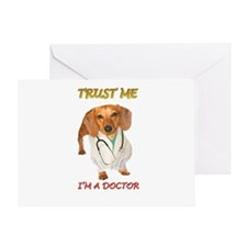 Doc Doxie Greeting Card