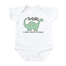 'Dinosaur Rawr' Infant Bodysuit