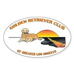 Golden Retriever Club of L.A. Decals (10 pk)