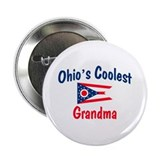 "Coolest Ohio Grandma 2.25"" Button"