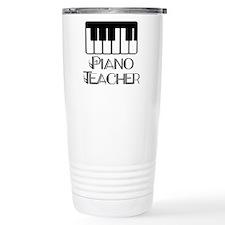 Piano Music Teacher Stainless Steel Travel Mug