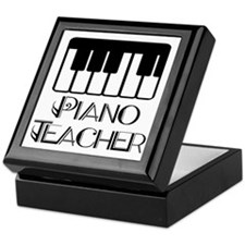 Piano Music Teacher Keepsake Box