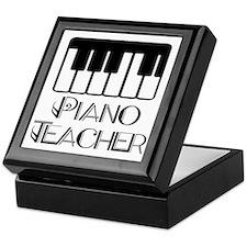 Piano Music Teacher Keepsake Box