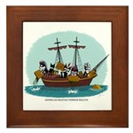 Boston Tea Party Framed Tile
