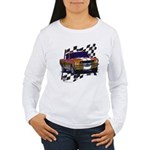 1966 Mustang Women's Long Sleeve T-Shirt