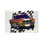 1966 Mustang Rectangle Magnet (100 pack)