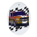 1966 Mustang Oval Ornament