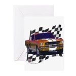 1966 Mustang Greeting Cards (Pk of 10)