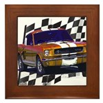 1966 Mustang Framed Tile