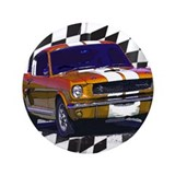 "1966 Mustang 3.5"" Button (100 pack)"