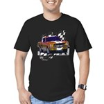 1966 Mustang Men's Fitted T-Shirt (dark)