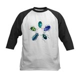 Five Shiny Beetles Tee