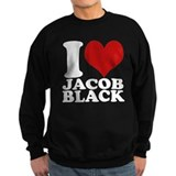 I Love Jacob Black Sweatshirt