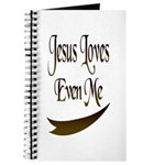 Jesus Loves Even Me Journal