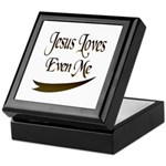 Jesus Loves Even Me Keepsake Box