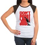 Don't Shoot Women's Cap Sleeve T-Shirt