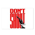 Don't Shoot Postcards (Package of 8)