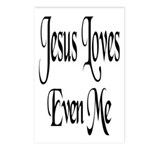 Jesus Loves Even Me Postcards (Package of 8)