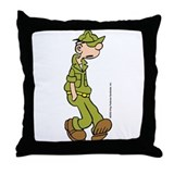 Unique Cartoon strip Throw Pillow