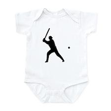 baseball player Infant Bodysuit