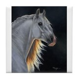 Andalusian Stallion 3 Tile Coaster