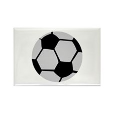 soccer ball Rectangle Magnet