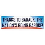 Thanks To Barack Bumper Sticker (50 pk)