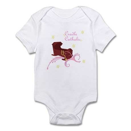Girl Cradle Catholic Infant Bodysuit