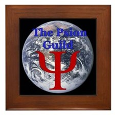 The Psion Guild Logo Framed Tile