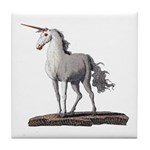 Unicorn 2 Tile Coaster