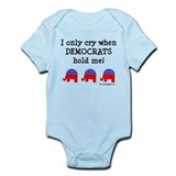 When Democrats Hold Me Onesie