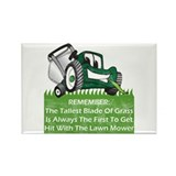 Tallest Blade Of Grass Rectangle Magnet